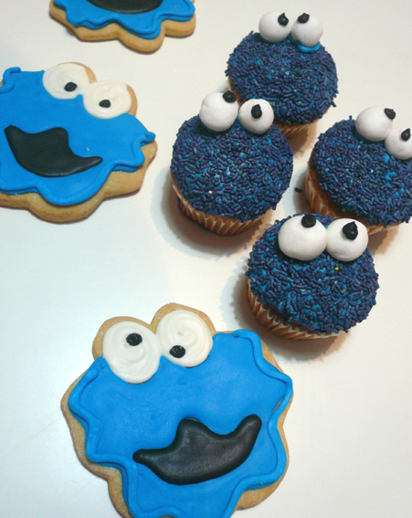 Cookie Monster Cookie monster a pleno